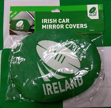 Ireland Rugby (Brand New in Package) Rugby Union Car Mirror Covers