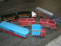 VINTAGE CORGI TOY CARS JOB LOT OF DIECAST VEHICLES CHIPPERFIELD CIRCUS STOBART