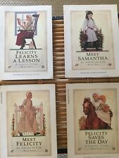 AMERICAN GIRL BOOKS, LOT OF 4, FELICITY AND SAMANTHA/ GR8 4 SUMMER READING!