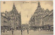 Belgium, Anvers, La Rue Leys Postcard, B274