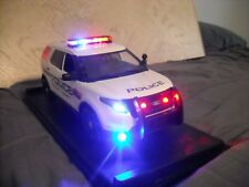 1/18 SCALE NASSAU COUNTY POLICE FORD EXPLORER DIECAST W/ WORKING LIGHTS