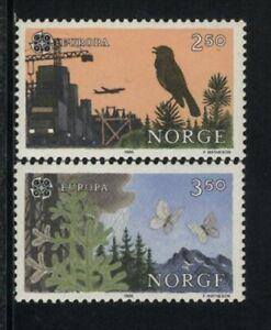 BUTTERFLIES, MNH Scott, # 892-93,  NORGE