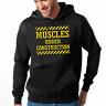Muscles under Construction Sport Gym Spaß Bodybuilding Kapuzenpullover Hoodie