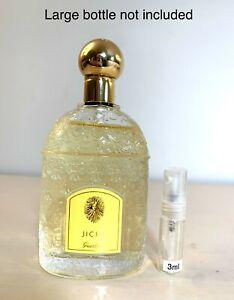 Guerlain JICKY Perfume EDP 3ml SAMPLE in Glass Travel Spray