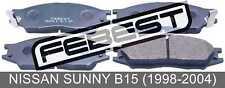 Pad Kit, Disc Brake, Front For Nissan Sunny B15 (1998-2004)