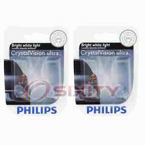 2 pc Philips Parking Light Bulbs for Porsche 911 Boxster Cayenne 1997-2008 mr