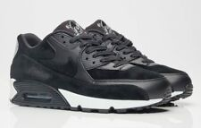NIB NIKE Mens 11.5 AIR MAX 90 PREMIUM REBEL SKULLS 700155 009 BLACK SHOES $120