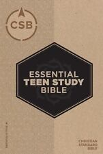 CSB Essential Teen Study Bible (hardcover) by B&H Kids Editorial Staff (2017)