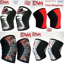 DAM Knee Sleeve Power Lifting Weightlifting Patella Support Brace Protector Camo