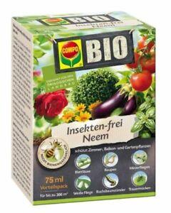 COMPO Bio Insekten-frei Neem 75 ml Blattläuse Kartoffelkäfer Trauermücken