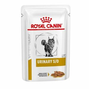 3 x Royal Canin Urinary S/O Mod Calorie Wet Cat Food in Gravy  Pouches FREE P&P