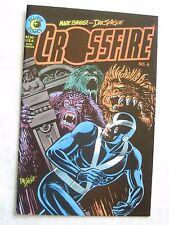 Eclipse Comics CROSSFIRE #4 - Mark Evanier & Dan Spiegle