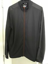 Tek Gear Performance DryTek Full Zip Reflective Active Tricot Jacket M Gray NWT