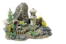 Classic Zen Garden & Plants Aquarium Ornament Fish Tank Decoration