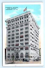 Postcard LA Shreveport Commercial National Bank Building D22
