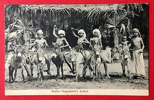 AK HAMBURG um 1910 Gustav Hagenbeck Indien Typen   ( 11387