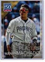 Manny Machado 2019 Topps Update 150 Years of Professional Baseball 5x7 #150-25 /
