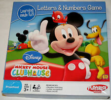 Disney Mickey Mouse Clubhouse Letters & Numbers Game Preschool