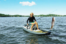 Aqua Marina Inflatable Stand Up Paddle Board Drift Fishing 10'10""