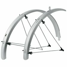 SKS B65 Commuter II 29-Inch Silver Bolt-On Fender Set for Mountain Bicycle
