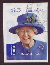 AUSTRALIA 2015 QUEENS BIRTHDAY SELF ADHESIVE INTERNATIONAL STAMP FINE USED