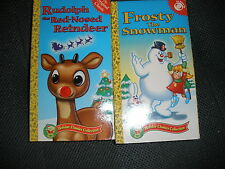 VHS HOLIDAY CLASSIC COLLECTION FROSTY THE SNOWMAN RUDOLPH THE RED NOSE REINDEER