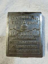 Vintage National Cigar Stands Match Book Holder Safe 2000 Stands Better Cigars