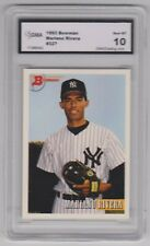 1993 Bowman Mariano Rivera Rookie Baseball Card New York Yankees Pitcher