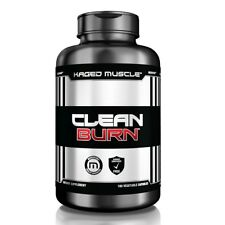Kaged Muscle Clean Burn Fat Burner Weight Loss 180 Capsules