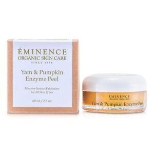 NEW Eminence Yam & Pumpkin Enzyme Peel 60ml Womens Skin Care