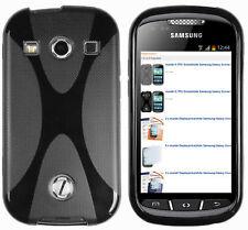 mumbi Hülle f. Samsung Galaxy X 2 Schutzhülle X-TPU Case Tasche Schwarz
