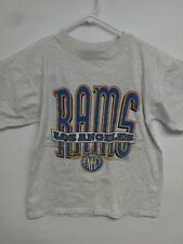 Vintage Los Angeles Rams Football NFL Logo 7 1992 Shirt Sz M VTG 90s