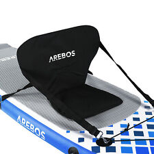 Asiento de kayak Arebos para SUP Board Stand Up Paddle Surfboard Top Comfort