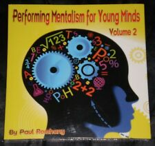 Mentalism for Young Minds Vol. 2 by Paul Romhany - New Magic Mentalism Book
