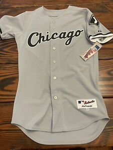 Chicago White Sox Majestic Authentic Gray Road Jersey - Sz 40 NWT