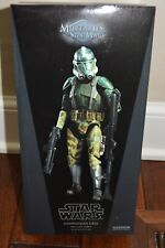 Sideshow Hot Toys Star Wars 1/6 Scale 41st Elite Corps Commander Gree, ROTS, NIB