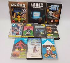 Sinclair ZX Spectrum Game Bundle Lot 48k/128k Hellfire Sky Runner Hacker II #6