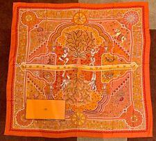 Hermes Cashmere/Silk Aux Portes Du Palais Scarf Shawl 140cm NIB