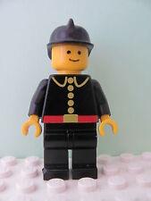 LEGO Minifig firec004 @@ Fire Classic Black Fire Helmet 1062 1066 4520 6650 6382