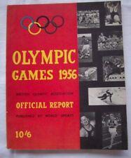 Orig. British report XVI Olympic Games Melbourne 1956!!! EXTREM RARE