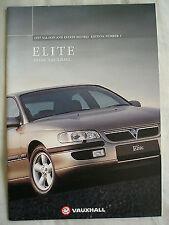 Vauxhall Elite range brochure 1997 Models Ed 1
