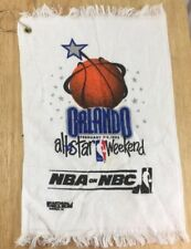 398f8df8b13 All Star Weekend Nba 1992 Orlando Golf Towel New Nba On Nbc New Unused Magic