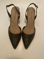 christian siriano payless Black Slingback Heels Size 9.5