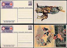 Red Cross George VI (1936-1952) European Stamps