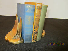 Pair Of Nautical Sailboat Brass Clad Bookends