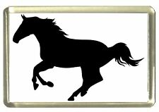 Silhouette Horse Fridge Magnet, Horsing Around!
