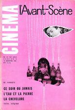 C1 Avant Scene Cinema # 9 1961 MICHEL DEVILLE Anna KARINA Ado KYROU
