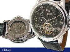 Trias Automatikuhr-Copérnico-dual-Timer, reloj Hombre, Day + date