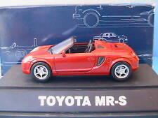 TOYOTA MR-S SPYDER RED MR2 ZZW30 EBBRO #87 1/43 JAPAN
