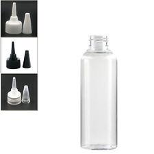 10X150ml clear empty pet plastic bottle with twist-open dispensing cap